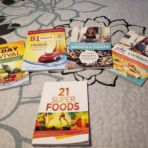 NWOT 21 Day Fix books and a superfoods book